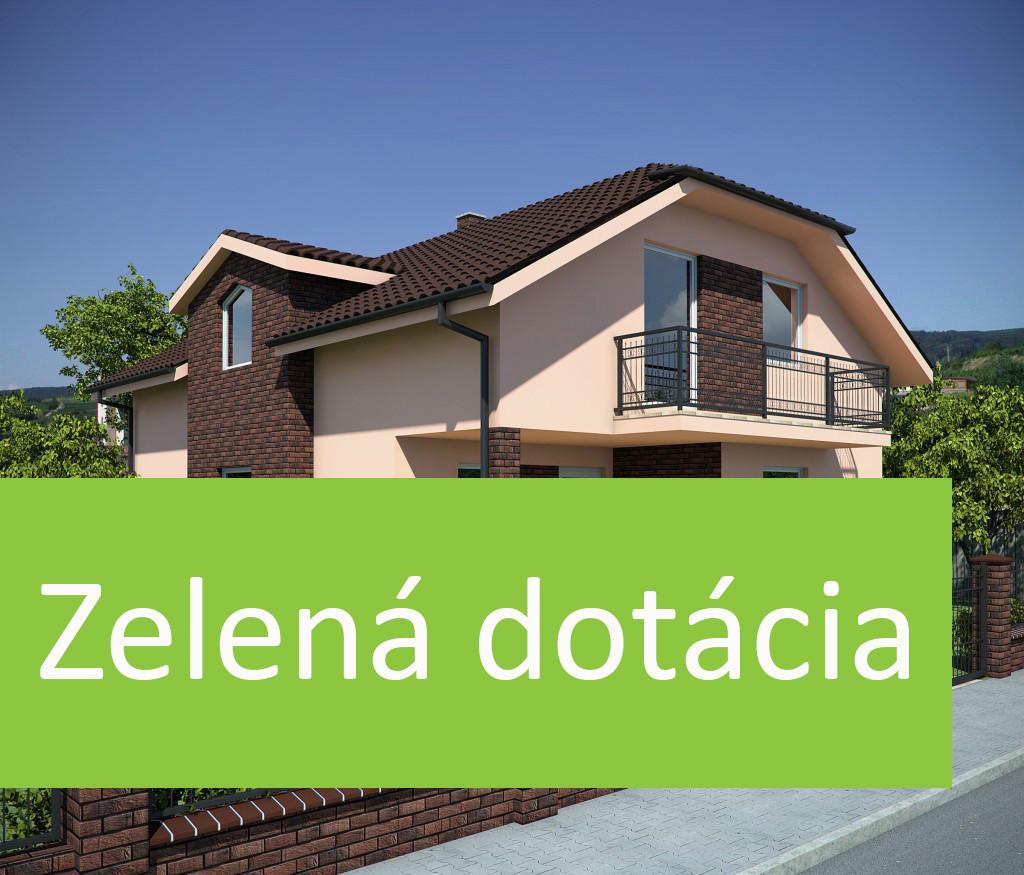 Dotácia pre rodinný dom